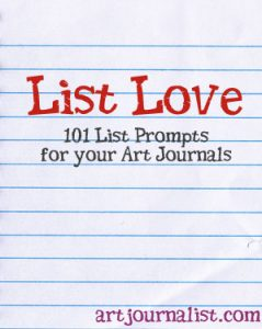 List Love: 101 List Prompts For Your Art Journals