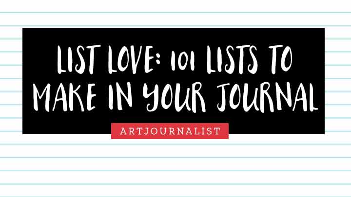 list love journal prompts