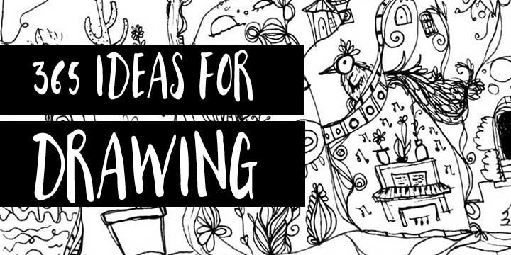 drawing sketchbook ideas